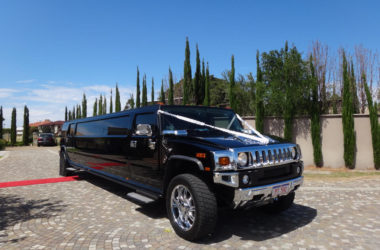 14 Seater Black Hummer Limousine1